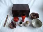 茶箱 象牙茶杓