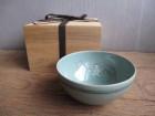 柳海剛の青磁象嵌唐子鉢