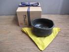 織部黒茶椀