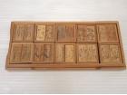 竹製十種香札