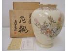 14代沈寿官の薩摩焼花瓶