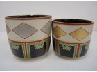 MOA美術館 仁清写色絵金銀菱重茶碗