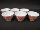 煎茶碗 6客 和善作 湯飲 湯呑 骨董 中国 煎茶道具