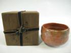 楽吉左衛門の赤茶碗